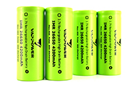 Vappower IMR 26650 4200mAh 40A Li-ion High