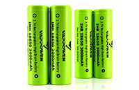 Vappower 3.7V IMR 18650 3000mAh 30A Li-ion High Drain Battery