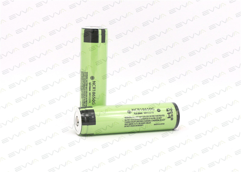 Protected Panasonic NCR18650G 3600mAh Li-ion Rechargeable Battery