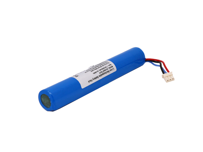 2S1P 18650 7.2V Li-ion Battery with Connect