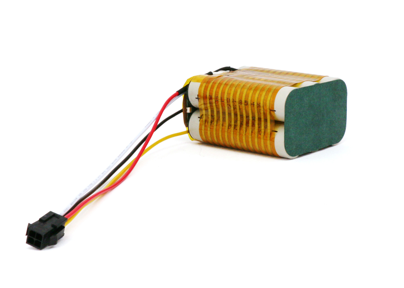 3S2P 18650 11.1V Li-ion Battery 5200mAh with Heating Element Wires Out
