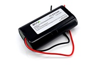 2S1P 7.4V Battery Pack 18650 2S1P 7.2V 3400mAh