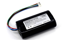 1S2P Protected 18650 Li-ion Battery Pack Wires Out 3.7V 6800mAh