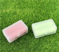 Plastic case for 2pcs of 20700 21700 batter
