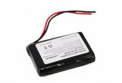 Protected 103450 Li-ion Prismatic Battery Wires Out 3.7V 2300mAh