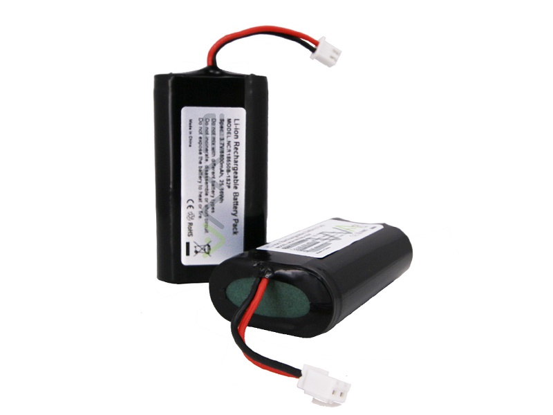 18650 1S2P 3.7V 6800mAh Lithium Battery Pack with PCM Protection Circuit